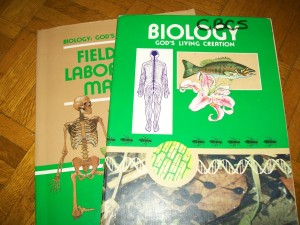 my high school Biology book, published by Beka