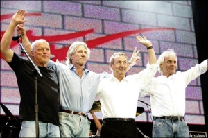 Pink Floyd at Live 8 in 2005