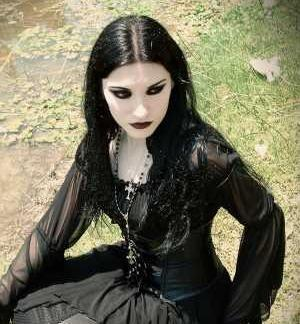 Goth chick photo 46